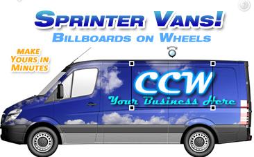 Sprinter Van Vehicle Wrap Design