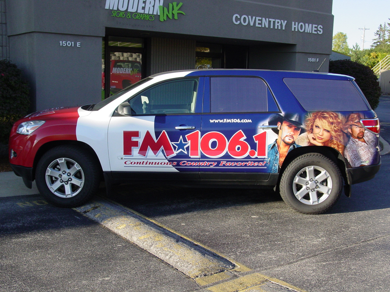 Modern Ink Signs Amp Graphics Vehicle Wrap Shop Waukesha