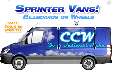 Sprinter Van Vehicle Wrap Design